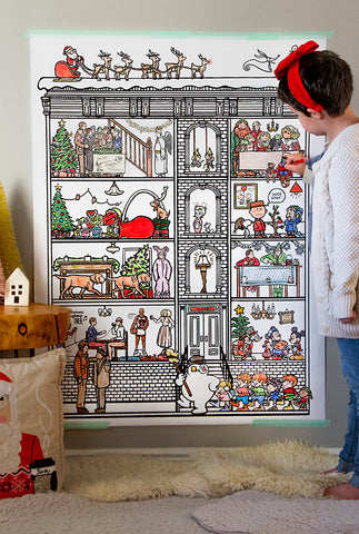 Christmas Special GIANT Coloring Poster