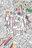 Once Upon A Time Giant Coloring Poster