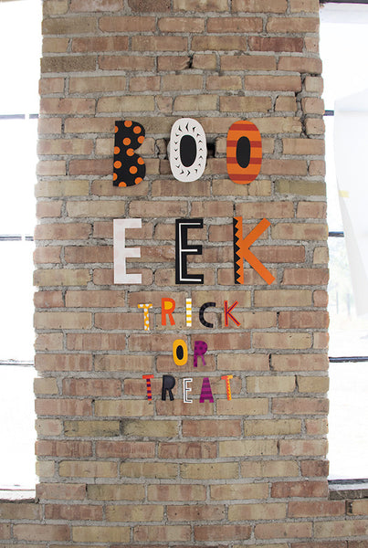 Halloween Letters