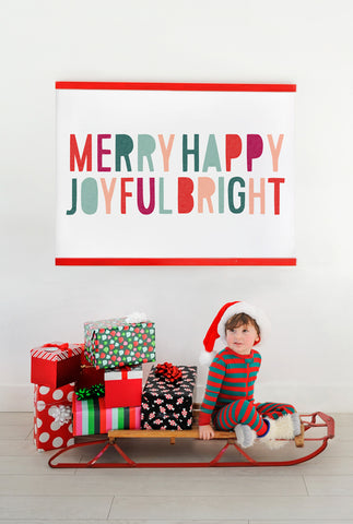 Joyful and Bright Poster Pack