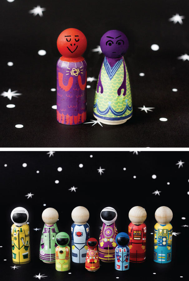 Minifolk: Space Pack