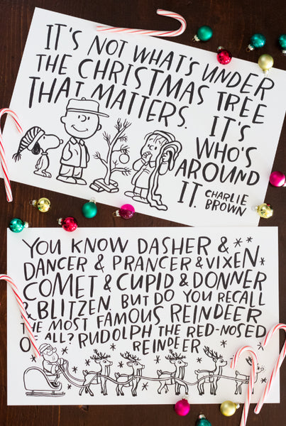 Christmas Movies Placemats