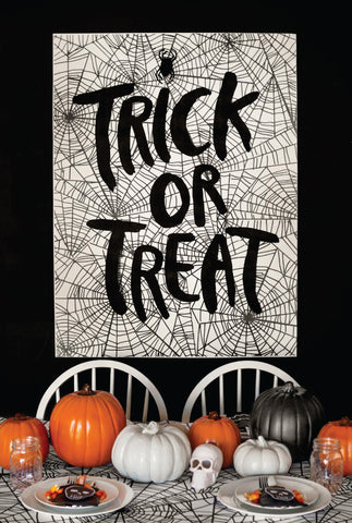 Trick or Treat Brush Script Set