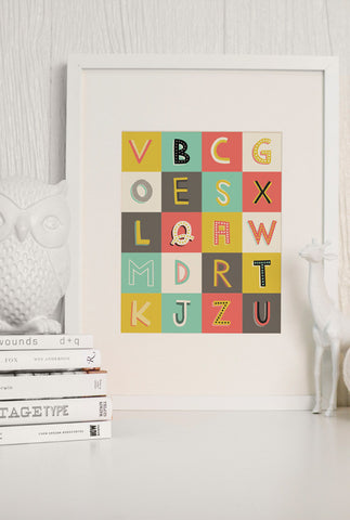 A to Z Poster Pack
