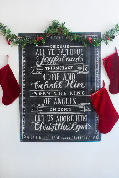Joyful Carols Chalk Pack