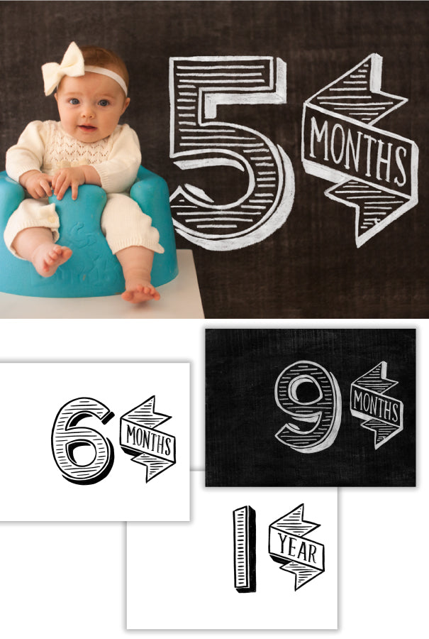 Baby's First Year Posters