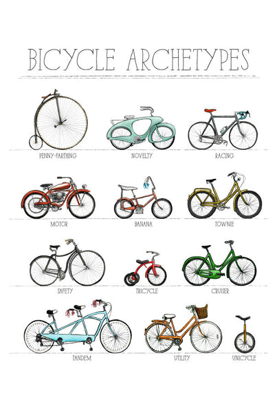 Ride Along: Bicycle Poster