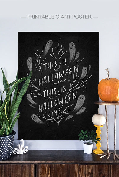 Sophisticated-Spooky Halloween Chalk Set