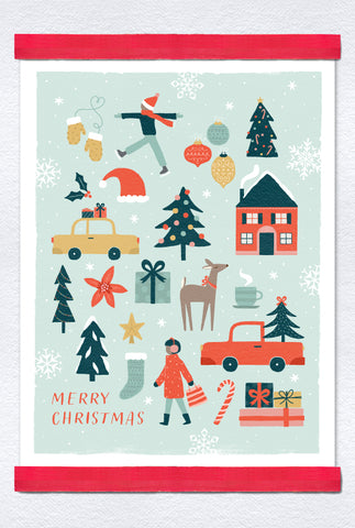 City Christmas Poster Pack