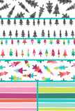 Colors of Christmas Wrapping Paper