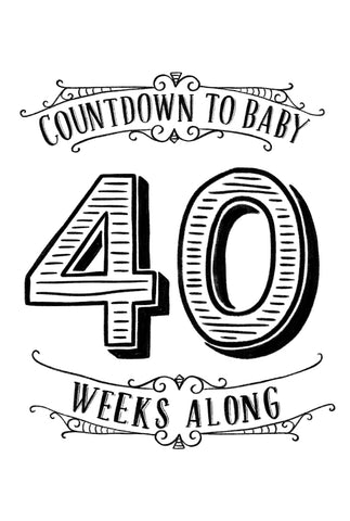 Countdown to Baby Posters