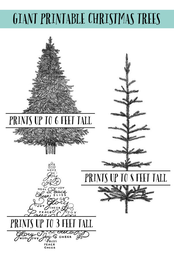 Draw Together Christmas Trees