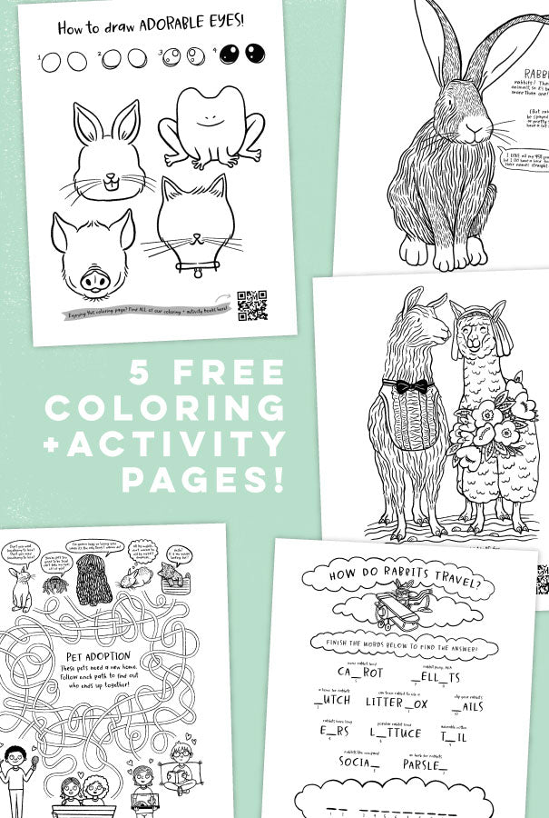 Easter Coloring + Activity Pages - AVAILABLE MARCH 26 - 30TH ONLY!