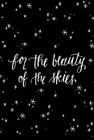 For the Beauty of the Skies
