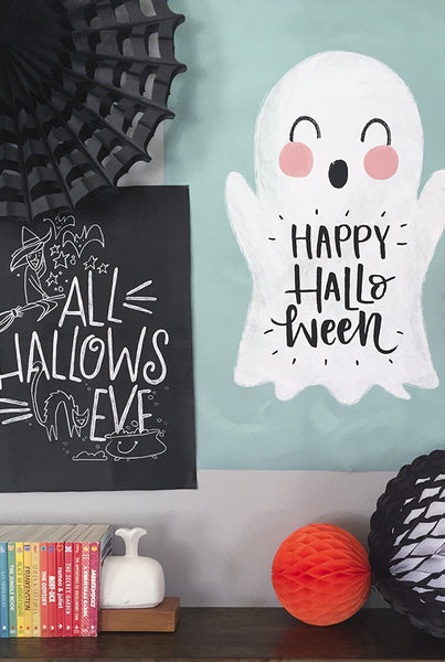 Friendly Halloween Chalk Set