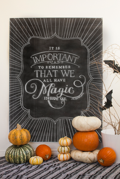 Chalk Magic Halloween Set