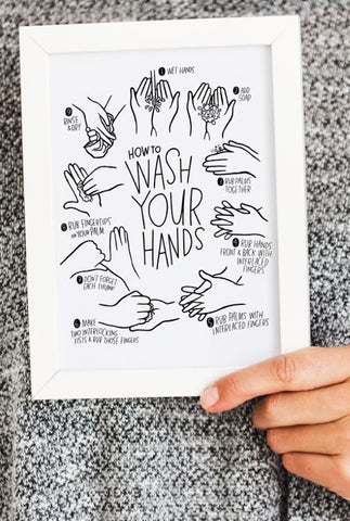 HOW TO: wash your hands
