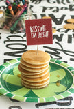 St. Patrick's Day Food Toppers and Flags