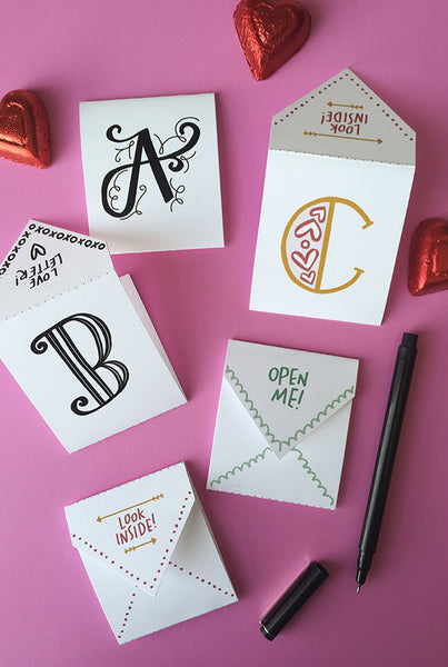 picture about Printable Love Note named Take pleasure in Letters Printable Delight in Notes Caravan Shoppe