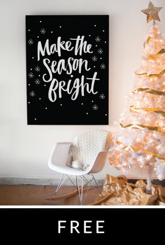 Bright Season Printable Poster