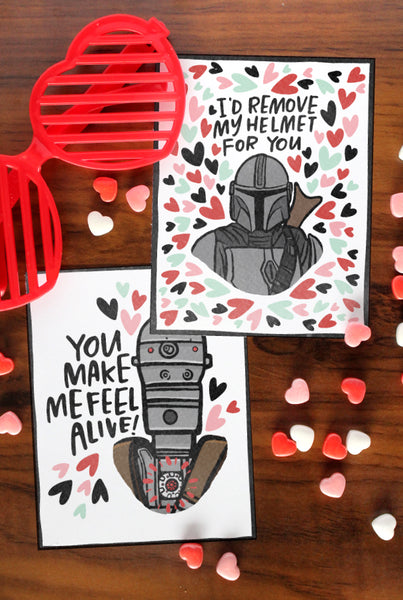 Mandalorian Valentines - UPDATED!