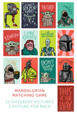 Mandalorian Matching Game