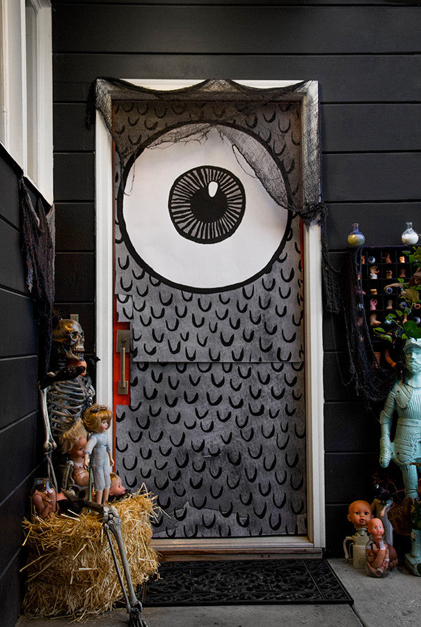 Dreadful Doors Halloween Door Covers & Dreadful Doors: Halloween Door Covers | Caravan Shoppe