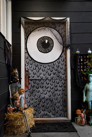 Dreadful Doors: Halloween Door Covers