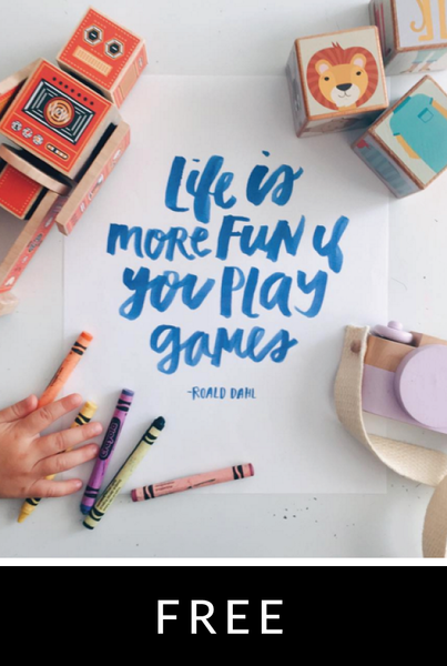 Life is More Fun Print