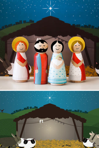 Oh Holy Night Nativity