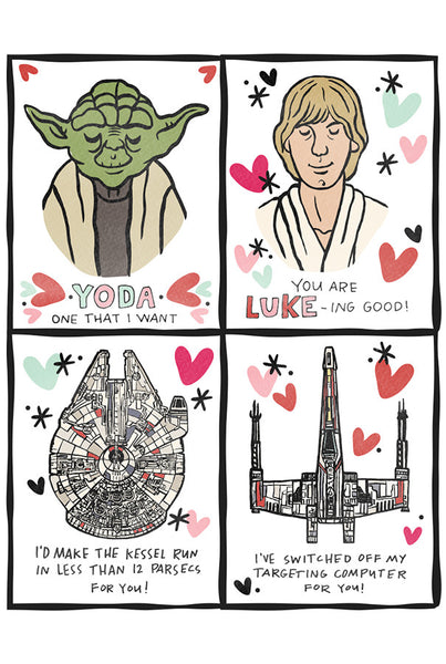 photograph about Printable Star Wars Valentine identified as I centre Star Wars Printable Valentines Caravan Shoppe