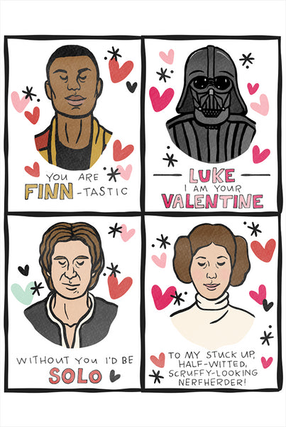 I {heart} Star Wars Printable Valentines