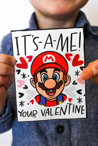 Video Game Characters Valentines