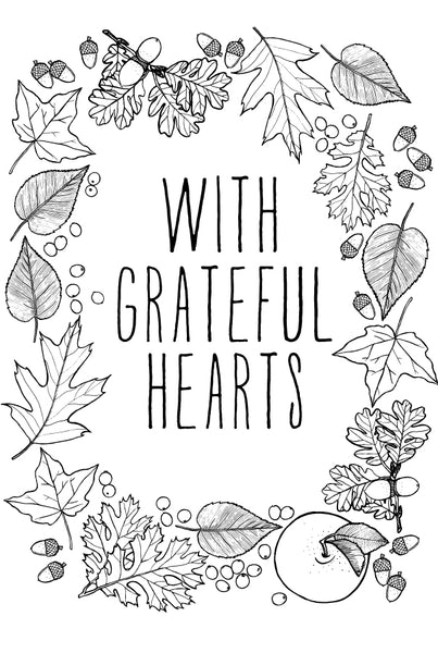 With Grateful Hearts