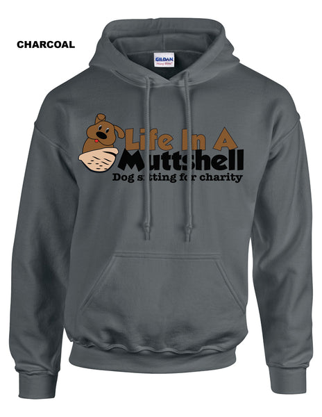 Life In A Muttshell - Logo - Heavy Pullover Hooded