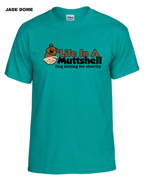 Life In A Muttshell - Logo - Short Sleeve Shirt - Crewneck - Men's