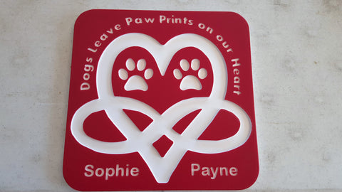 Dog's Leave Paw Prints on our Heart