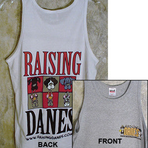 "Raising Danes ""The Color Chart"" Tank Top"
