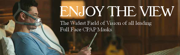 Shop Amara View Full Face CPAP Masks from Respironics at PRO2 CPAP Supplies in Lubbock TX