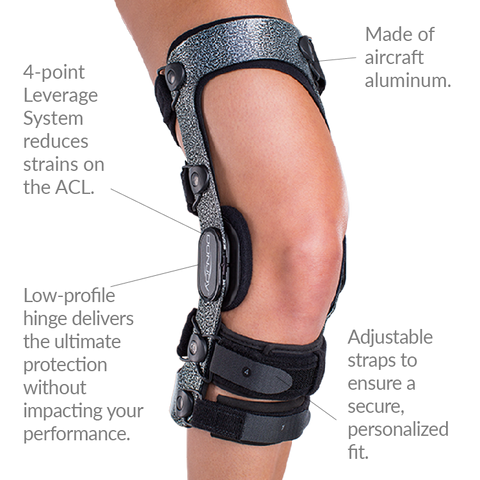 Shop the Armor FourcePoint Knee Brace at PRO2 Medical Supply in Lubbock TX