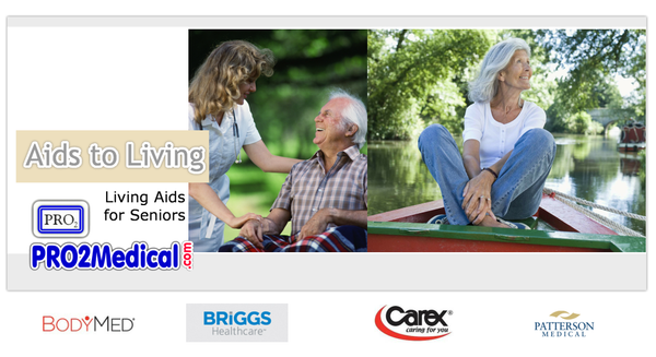 Buy Aids to Living for Seniors and Disabled Patients for Dressing, Eating, Reachers and more.