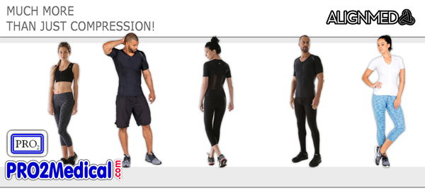 Shop AlignMed AlignSport Compression Wear products for Sports or Surgery Rehab at PRO2 Medical Supplies