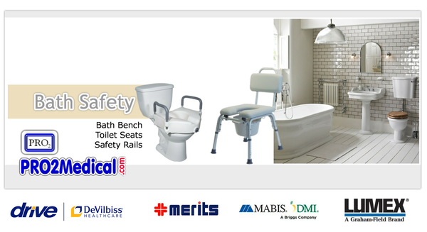 Bath Safety Products for Elderly at PRO2 Medical Equipment in Lubbock Texas