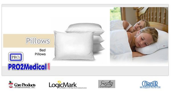 Buy Bed Pillows for Best Night Sleep at PRO2 Medical Supply Shop