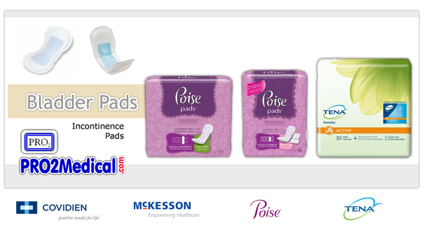 Buy Bladder Control Pads for Incontinence at PRO2 Medical Supply Shop in Lubbock TX