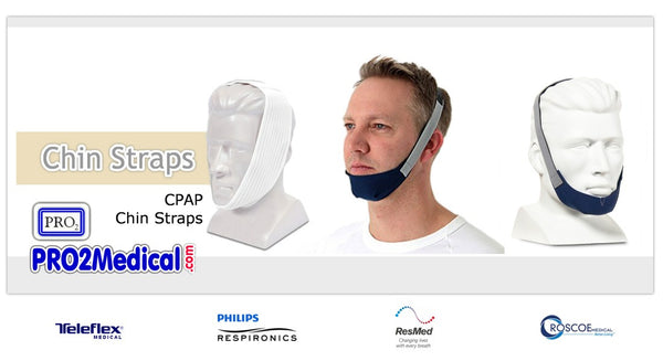 Buy CPAP Chin Straps at PRO2 Medical Supply Shop in Lubbock TX