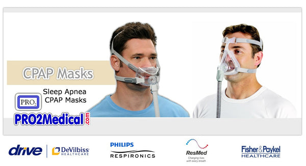 Buy CPAP Masks at PRO2 Medical Supply Shop