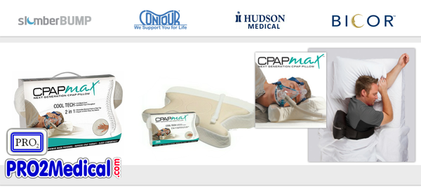 Buy CPAP Comfort Pillow for Side Sleeper at PRO2 Medical Lubbock TX