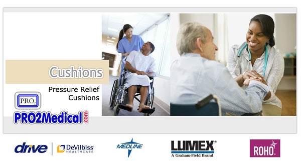 Buy Wheelchair and Seating Cushions for Pressure Relief at PRO2 Medical Equipment in Lubbock TX