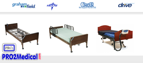 Buy Hospital Bed & Bed Mattress Support Surfaces at PRO2 Medical Supplies